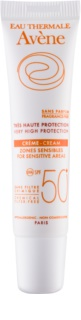 Avène Sun Mineral krem ochronny do wrażliwych miejsc bez filtrów chemicznych bezzapachowy SPF50+
