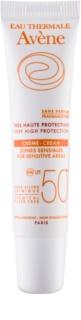 Avène Sun Minéral parfümfreie Schutzcreme für empfindliche Stellen ohne chemische Filter SPF 50+
