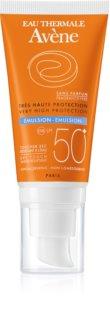Avène Sun Sensitive emulsja do opalania bez substancji zapachowych SPF 50+