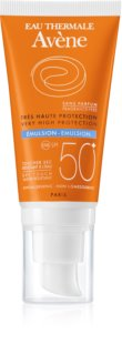 Avène Sun Sensitive Emulsion Lotion Without Perfume SPF 50+