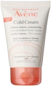 Avène Cold Cream creme de mãos para pele seca a muito seca