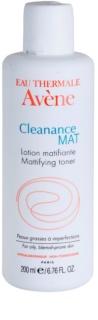 Avène Cleanance Mat καθαριστικό τονωτικό για λιπαρή και προβληματική επιδερμίδα
