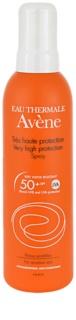 Avène Sun Sensitive spray pentru bronzat SPF 50+
