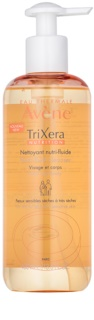 Avène TriXera Nutrition gel limpiador para rostro y cuerpo