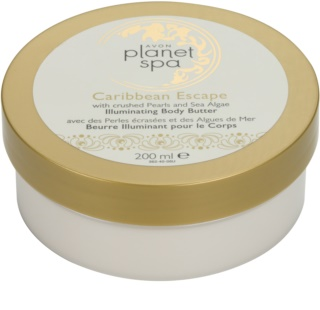 Avon Planet Spa Caribbean Escape Radiance Body Cream With Extracts Of Pearl And Seaweed