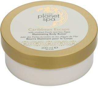 Avon Planet Spa Caribbean Escape Crema de corp cu extract de perle si alge marine