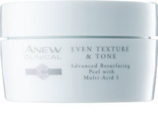 Avon Anew Clinical esfoliante em disco de algodão para unificar a cor do tom de pele