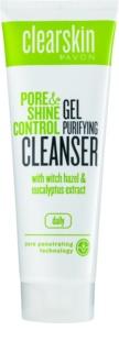 Avon Clearskin  Pore & Shine Control gel limpiador suavizante