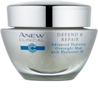Avon Anew Clinical máscara de noite hidratante com efeito regenerador