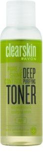 Avon Clearskin  Pore & Shine Control loción facial de limpieza profunda con efecto frío