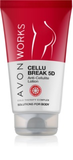 Avon Works leche corporal contra la celulitis