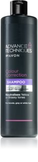 Avon Advance Techniques Colour Correction champô violeta para cabelo loiro e com madeixas