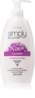 Avon Simply Delicate успокояващ гел за интимна хигиена