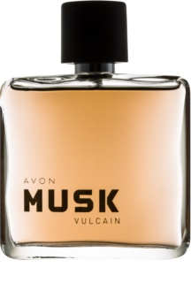 Avon Musk Vulcain eau de toilette para homens 75 ml