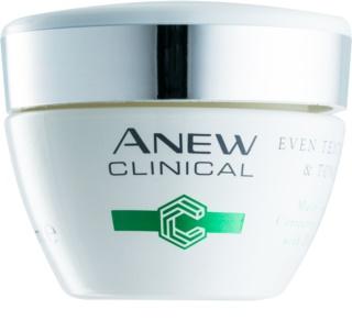Avon Anew Clinical creme de noite para unificar a cor do tom de pele