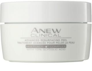 Avon Anew Clinical esfoliante em disco de algodão