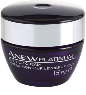 Avon Anew Platinum Creme Für Lippen und Augenumgebung
