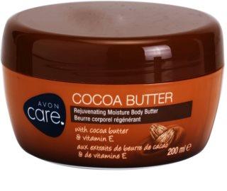 Avon Care creme de corpo hidrante e rejuvenescedor com manteiga de cacau e vitamina E