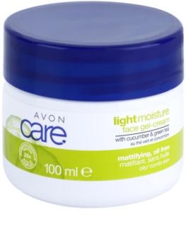 Avon Care osvežilna gelasta krema z izvlečki kumarice in zelenega čaja