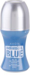 Avon Individual Blue for Him desodorante roll-on para hombre 50 ml