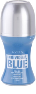 Avon Individual Blue for Him deodorant roll-on para homens 50 ml