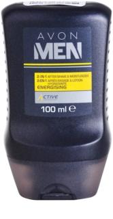 Avon Men Energizing bálsamo after shave hidratante  2 em 1