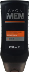 Avon Men Essentials felfrissítő tusfürdő gél