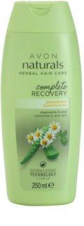 Avon Naturals Herbal відновлюючий шампунь з екстрактом ромашки