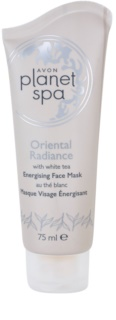 Avon Planet Spa Oriental Radiance povzbudzujúca zlupovacia pleťová maska s bielym čajom
