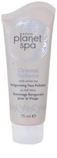Avon Planet Spa Oriental Radiance erfrischendes Hautpeeling mit weißem Tee