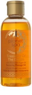 Avon Planet Spa Treasures Of The Desert erneuerndes Massageöl mit marokkanischem Arganöl