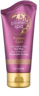Avon Planet Spa Radiant Gold mascarilla peel-off para redensificar la piel