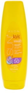 Avon Sun Kids lait solaire extra waterproof orange SPF 50