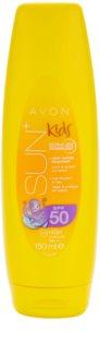 Avon Sun Kids protetor solar de laranja muito resistente à água SPF 50
