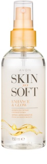 Avon Skin So Soft Self - Tanning Spray For Body
