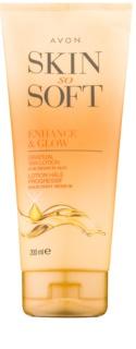 Avon Skin So Soft leche autobronceadora corporal