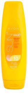Avon Sun leche solar hidratante SPF 10