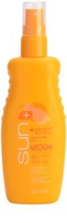 Avon Sun nawilżające mleczko do opalania SPF 15