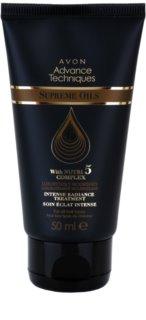 Avon Advance Techniques Supreme Oils nährendes Intensivserum mit luxuriösem Öl für alle Haartypen