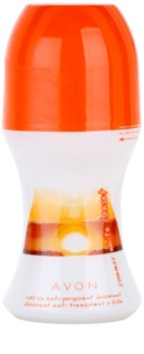 Avon Summer White Sunset Deo-Roller für Damen 50 ml