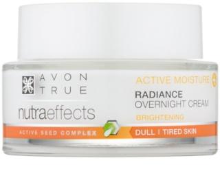 Avon True NutraEffects aufhellende Nachtcreme