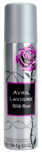 Avril Lavigne Wild Rose deospray pro ženy 150 ml