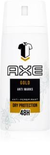 Axe Gold spray anti-transpirant 48h