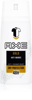 Axe Gold Antiperspirant Spray 48h