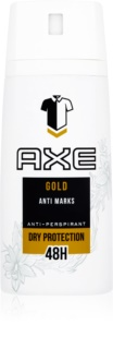 Axe Gold antitranspirante en spray 48h