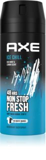 Axe Ice Chill desodorante y spray corporal con efecto 48 horas
