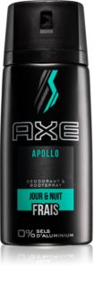 Axe Apollo deodorant spray para homens 150 ml