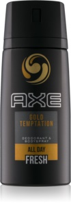 Axe Gold Temptation déodorant et spray corps