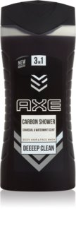 Axe Carbon gel de douche 3 en 1