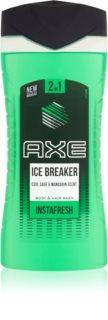 Axe Ice Breaker 2 in 1 gel de dus si sampon